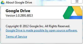 Google Drive Windows App
