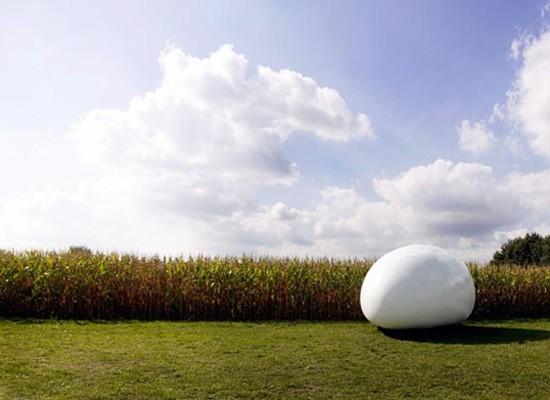 Vivienda movil Blob, dmvA, arquitectura, diseño