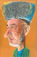 Hamid Karzai - Afganistan