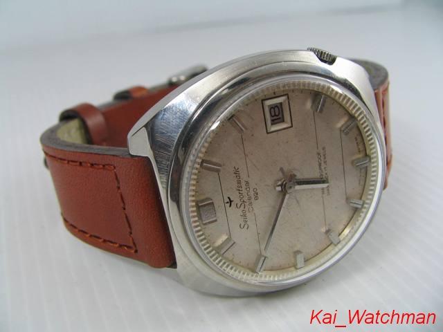 นาฬิกาข้อมือไซโก้ Seiko Sportsmatic Calendar 820_2