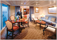 Club Balcony Stateroom - Azamara Club Cruises