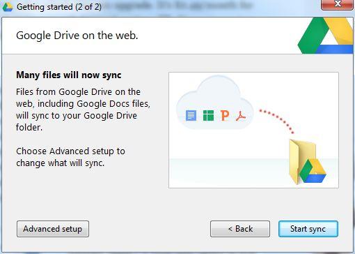 Google Drive Install