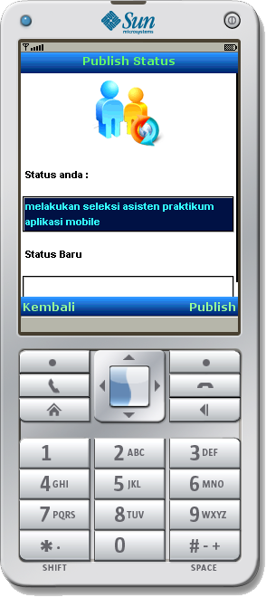 Mobile App: Publish Status with GPS