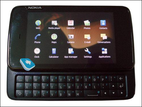 诺基亚新机王N900真机+界面