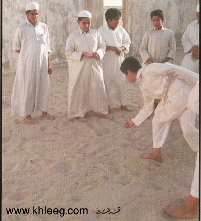 التيله لعبه من التراث الخليجي الحلقة الاولى 3