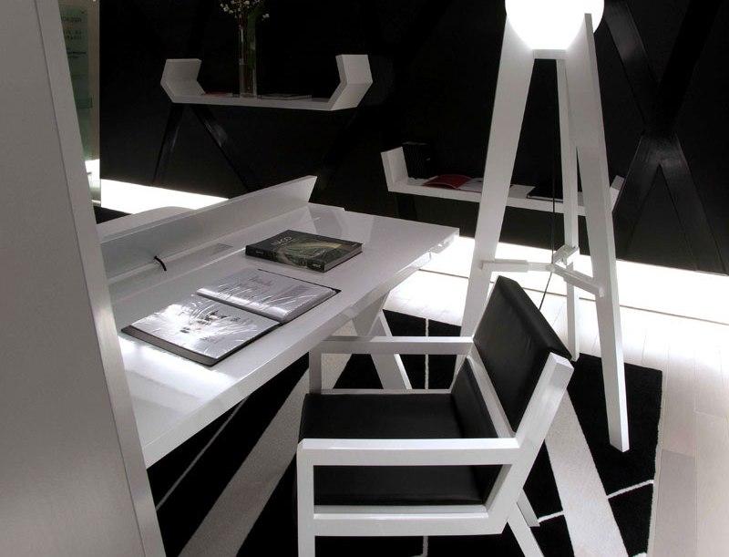 Casa FOA 2009: Espacio N°13, Dormitorio Black & White por Marcelo Joulia, Arquitectura, Diseño, Decoracion