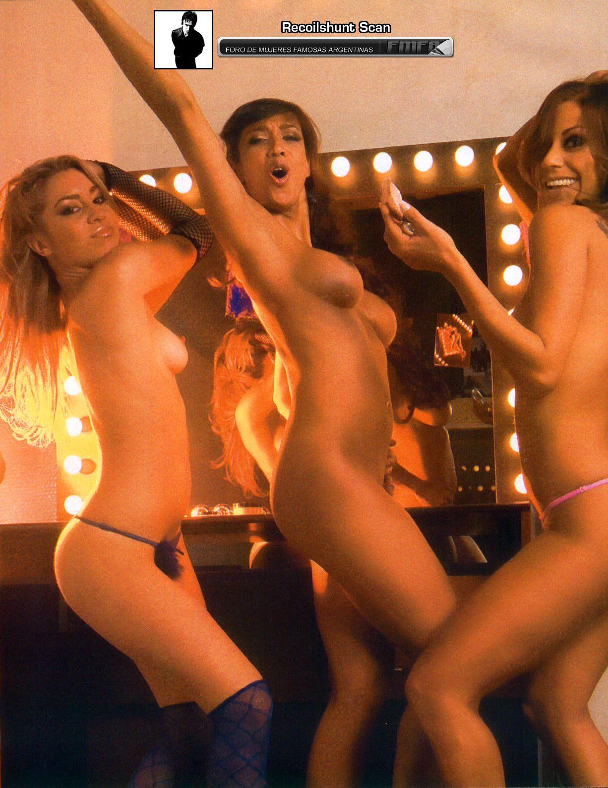 Bailarinas de ShowMach (desnudas)