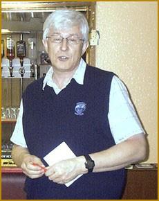 Alastair Chalmers, Captain Leith Rules Golf Society