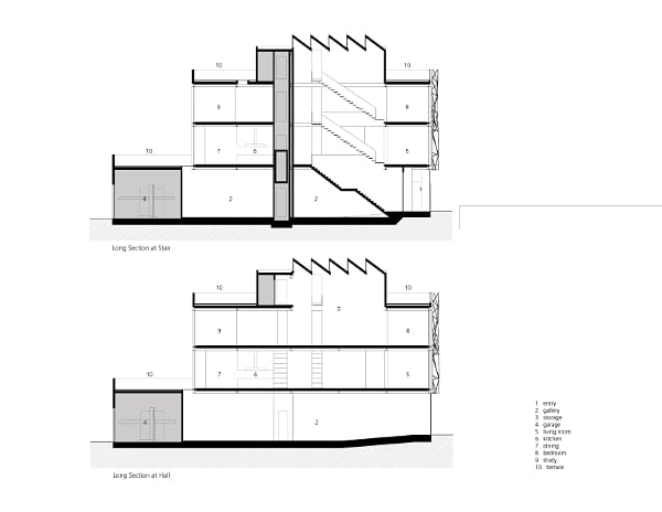 Casa Galería - Ogrydziak Prillinger Architects