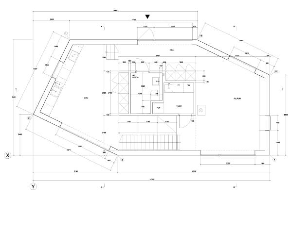 planos, House Tumle - Johannes Norlander Arkitektur