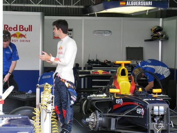Jaime Alguersuari espagnol Red Bull
