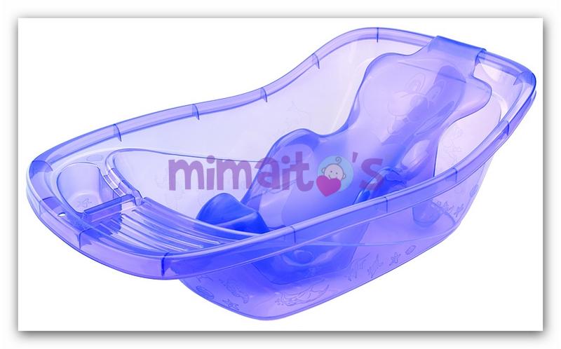 Baño En Tina Para Ninos: diseñado con un aditamento especial que se va ajustando para dar