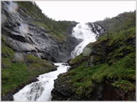Waterfall above Flam