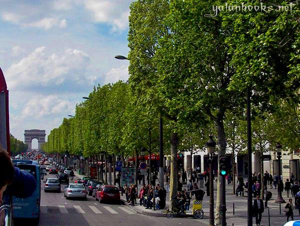 Paris Champs-Élysées Photography Views Romanticism 香榭丽舍大道 风光摄影 浪漫主义 Yalan雅岚 黑摄会