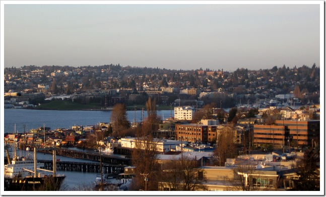 Seattle im Januar