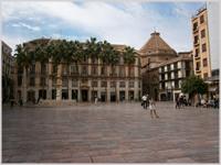 Constitution Square, Malaga