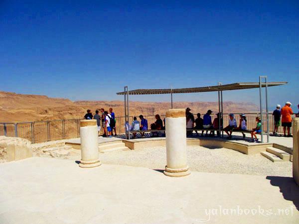Masada Israel Palatial Fortress of Herod View Photography  Romanticism 马萨达 以色列 古犹太王城 风光摄影 浪漫主义 Yalan雅岚 黑摄会