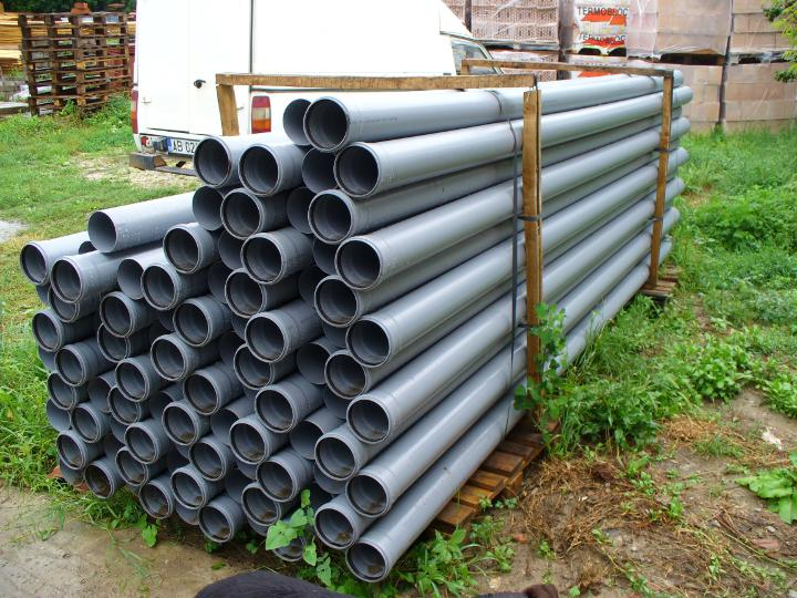 Tub PVC pentru canalizare