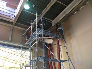 鉄骨組み立て エレベーター リフト型エレベーター