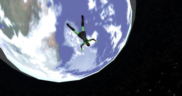 Paraquedismo na Estação USS Venture no SL Paraquedismo%20no%20sl_022