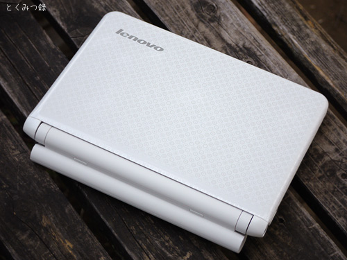 「IdeaPad S10-2」表面 画像
