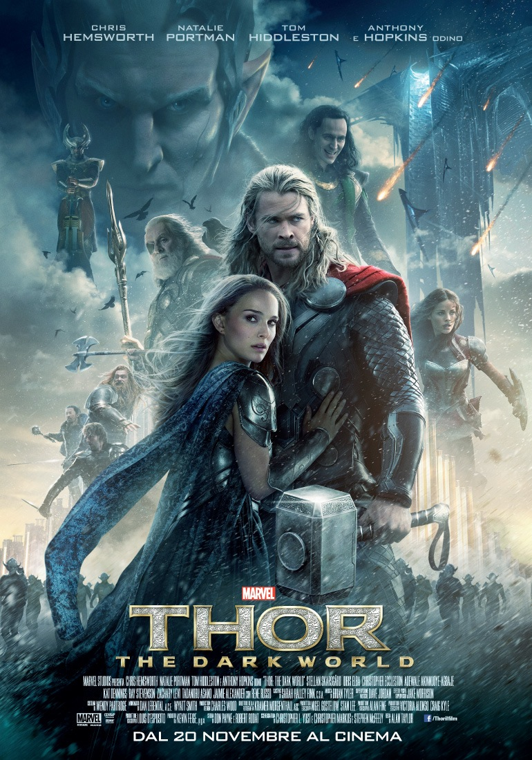 thor the dark world locandina italiana
