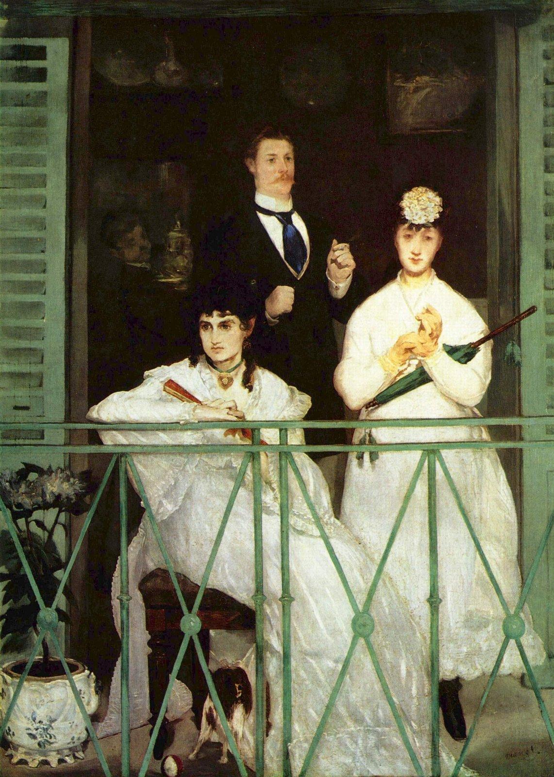 El balcón de E. Manet