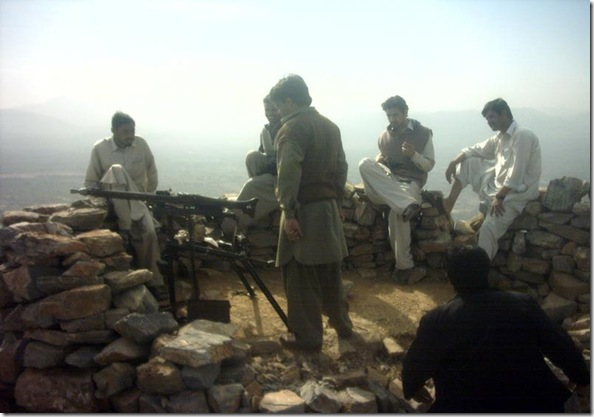 Afghanistan Pakistan Border Outpost