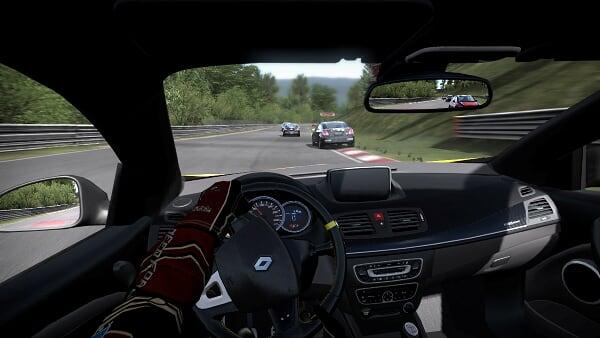 NFS Shift Renault megane cockpit