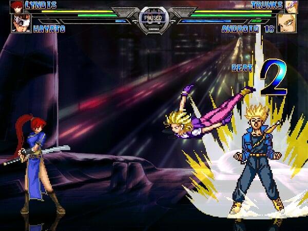 Exelente juego de peleas multiplayer Huihuhu