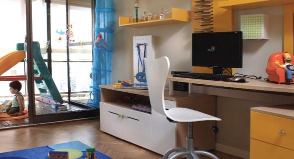 cuarto-de-chicos, colores, decoracion, diseño, muebles