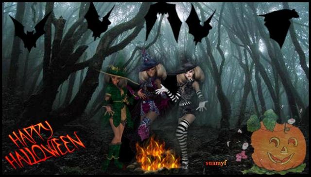 halloween streghe