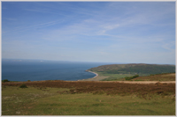 A view from Culbone in Exmoor National Park