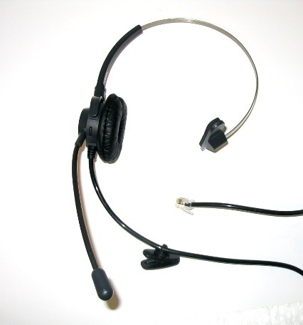 SOHO T110 Feature Headset Phone with Dual Training Jack /& MUTE for Call Center