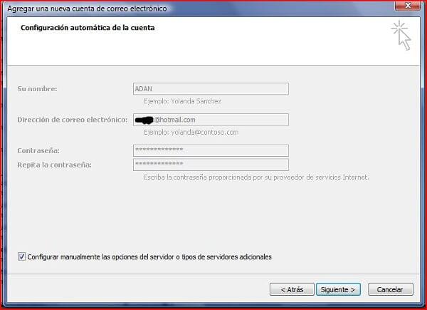[Tutorial] Configurar cuentas hotmail en outlook no programa