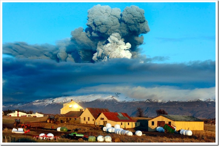 volcano eruption Iceland 1 AP