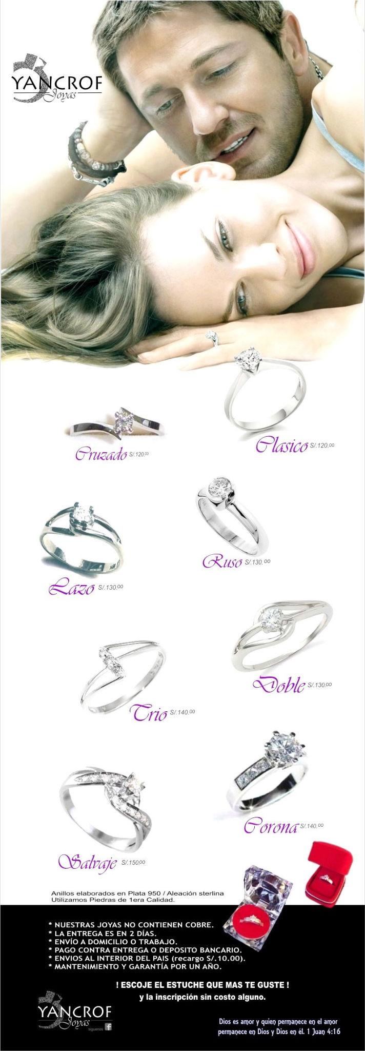 anillos de compromiso yancroff