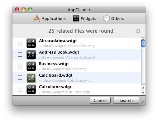 AppCleaner-免费小巧的程序移除工具