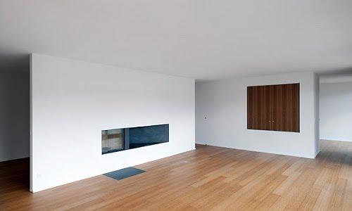 Apartamento minimalista en Suiza - Clavienrossier Architectes, decoracion, diseño, interiores, muebles