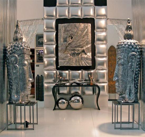 Objetos De Decoracion De Dise?o ~   artcromo presenta en pan de plata distintos objetos con forma de hojas