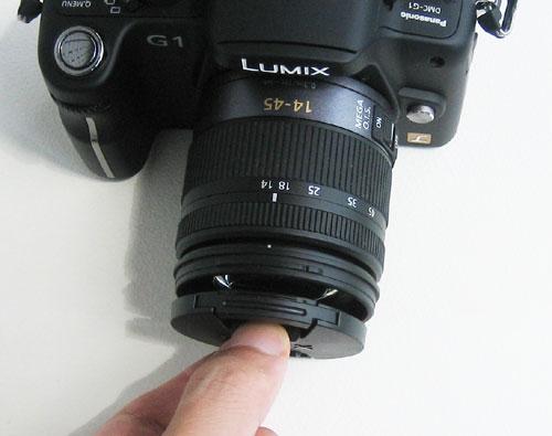 LUMIX DMC-G1 レンズキャップ