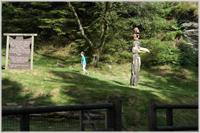 Some wooden sculptures