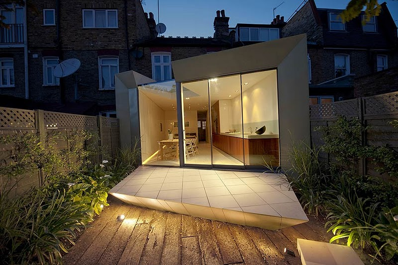Faceted House 1, Paul McAneary Architects, decoracion, diseño, interiores, muebles