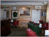 The bar at the Talbot Hotel