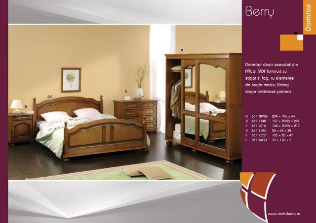 Dormitor Berry - mobila LUTSCH