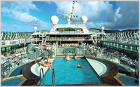 Pool Deck - Oceana, P&O Cruises