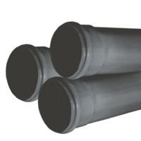 Tub PVC cu mufa si garnitura