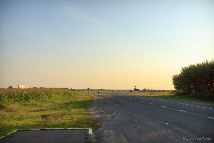 дорога на Чечерск