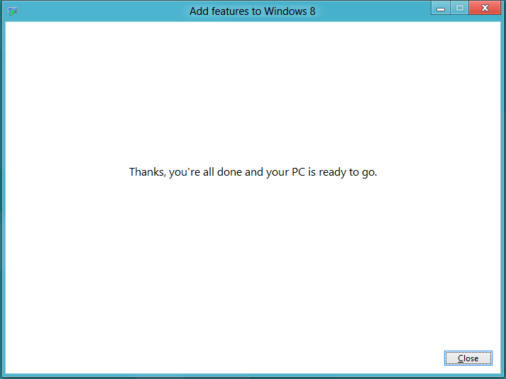 Windows 8 Add New Features