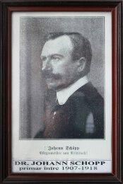 dr. Johann Schopp - 1907-1918